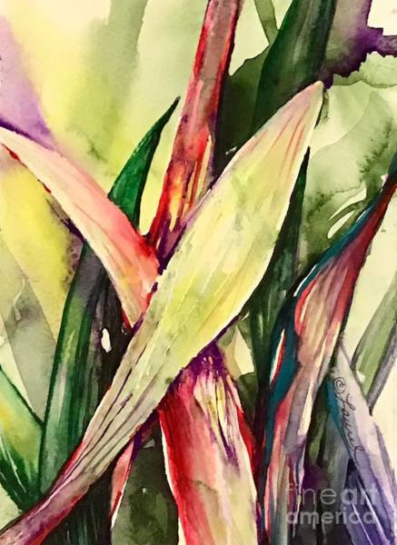Painting - Blades by Laurel Adams