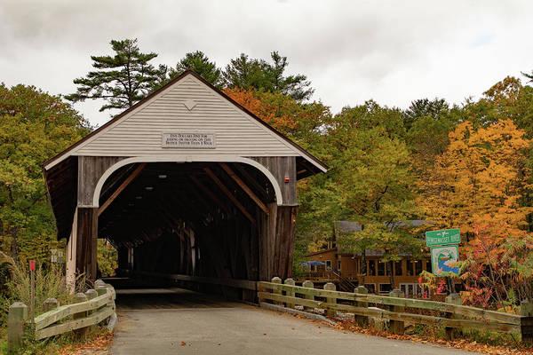 Photograph - Blair Covered Bridge by Jeff Folger