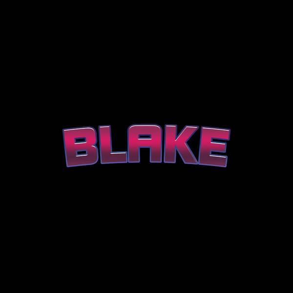 Wall Art - Digital Art - Blake by Tinto Designs