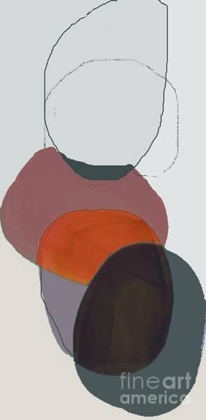Wall Art - Painting - Blank Circles - Modern Abstract Art By Vesna Antic by Vesna Antic