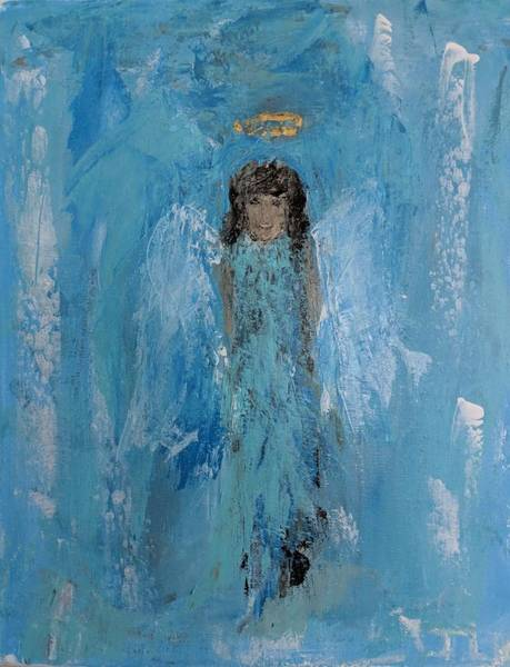 Painting - Blended Angel by Jennifer Nease