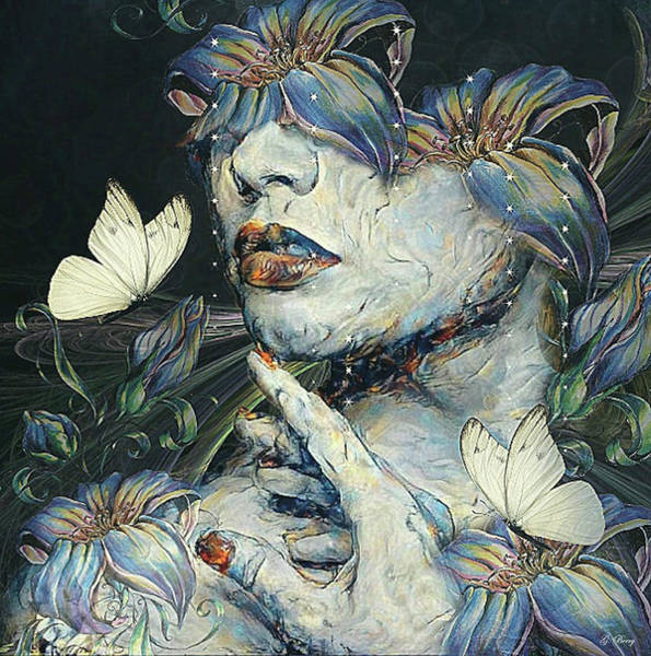 Wonderful Mixed Media - Blind Beauty by G Berry