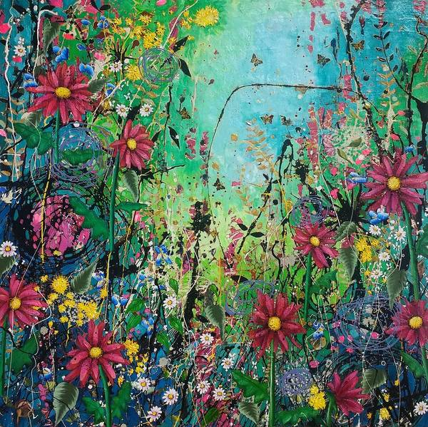 Wall Art - Painting - Bliss by Angie Wright