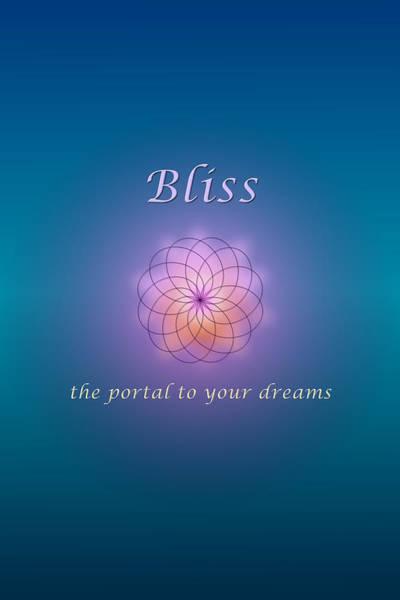 Digital Art - Bliss by Ruth Evelyn