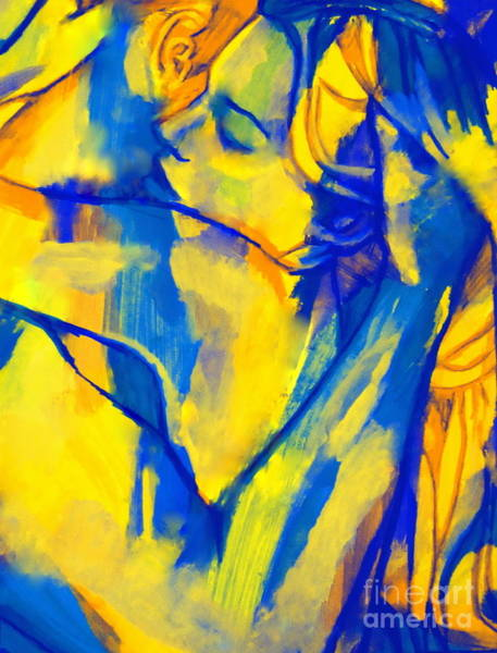 Painting - Blissful Embrace by Helena Wierzbicki