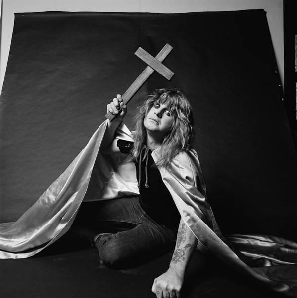 Ozzy Osbourne Wall Art - Photograph - Blizzard Of Ozz by Fin Costello