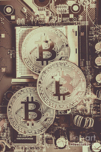 Digital Photograph - Blocks Of Bitcoin by Jorgo Photography - Wall Art Gallery