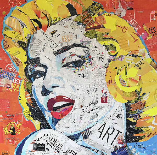 Leading Actress Wall Art - Mixed Media - Blonde Is The New Black by James Hudek