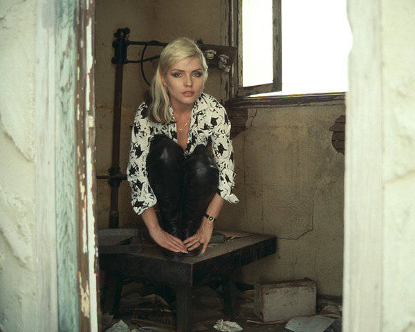 New Wave Music Photograph - Blondie Portrait Session by Michael Ochs Archives
