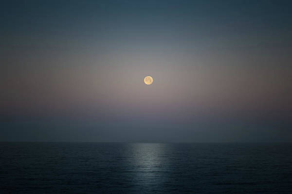 Wall Art - Photograph - Blood Moon Morning by Lonnie Christopher