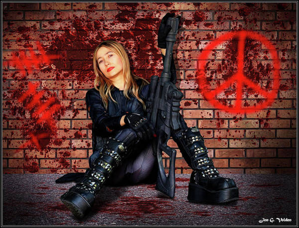 Photograph - Bloody Peace by Jon Volden