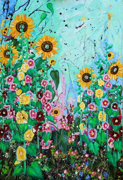 Wall Art - Painting - Bloom by Angie Wright