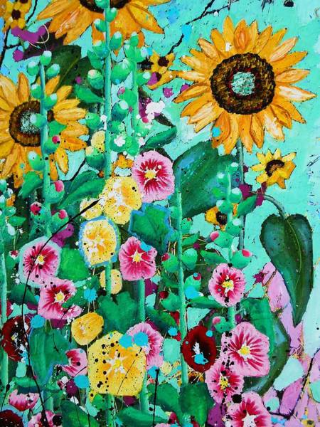 Wall Art - Painting - Bloom Detail by Angie Wright