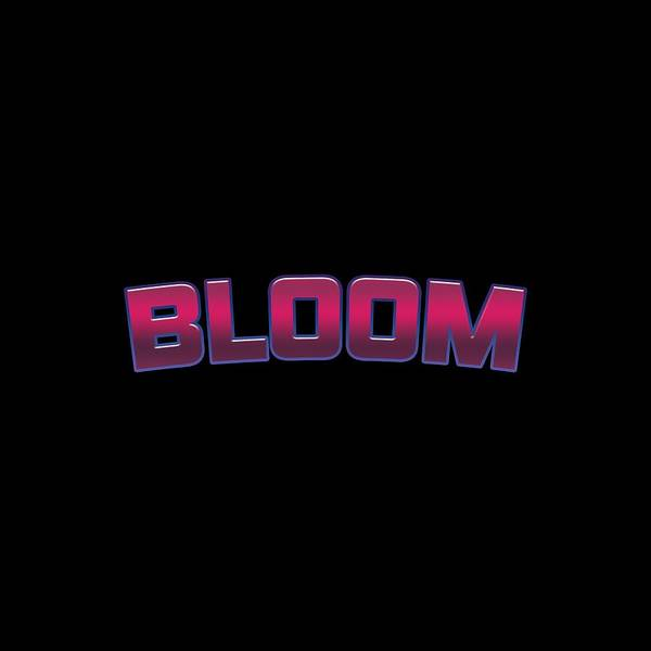 Blooms Digital Art - Bloom by Tinto Designs