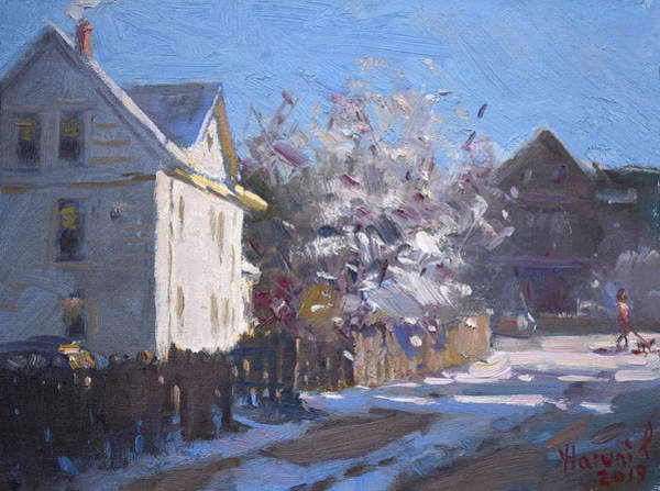 Blooming Tree Painting - Blooming And Melting by Ylli Haruni