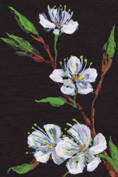 Painting - Blossoms Floral Impressionism by Irina Sztukowski