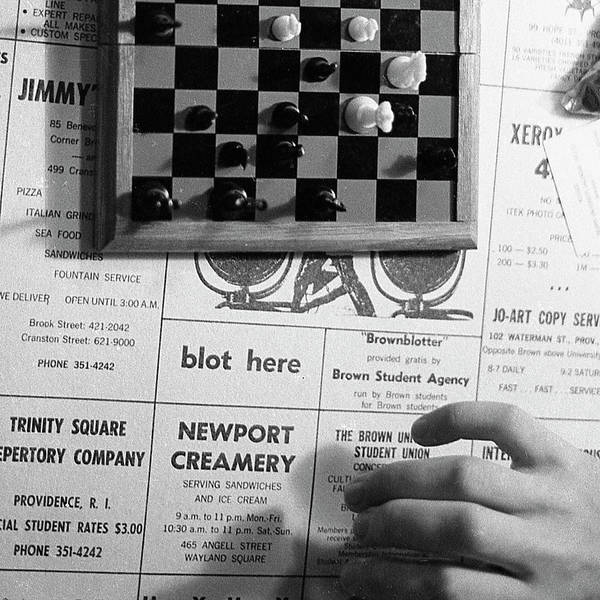 Photograph - Blot Here, Aka Black's Move, 1972 by Jeremy Butler