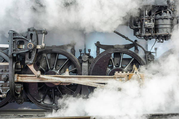 Wall Art - Photograph - Blowing Off Steam by Jeff Abrahamson