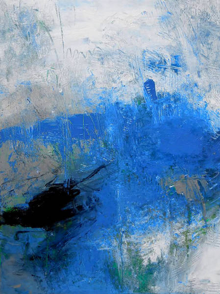 Transformer Painting - Blu Man by Ron Halfant