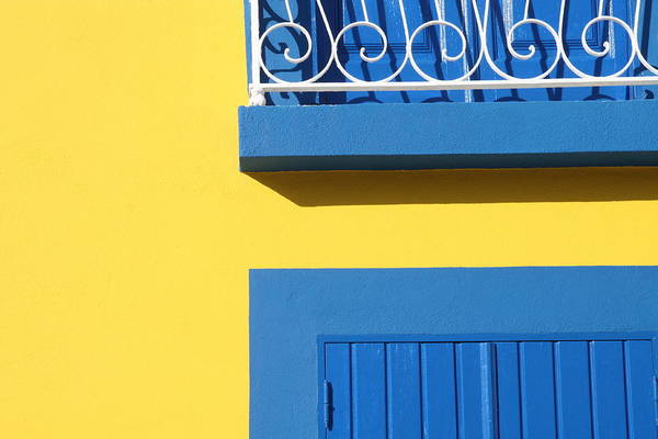 Photograph - Blue & Yellow by José Rodrigues
