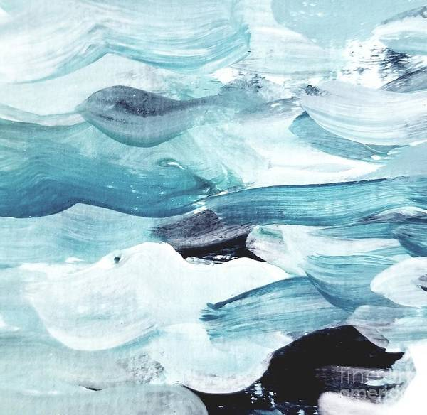 Painting - Blue #13 by Maria Langgle