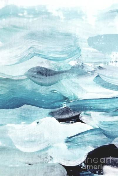 Painting - Blue #14 by Maria Langgle