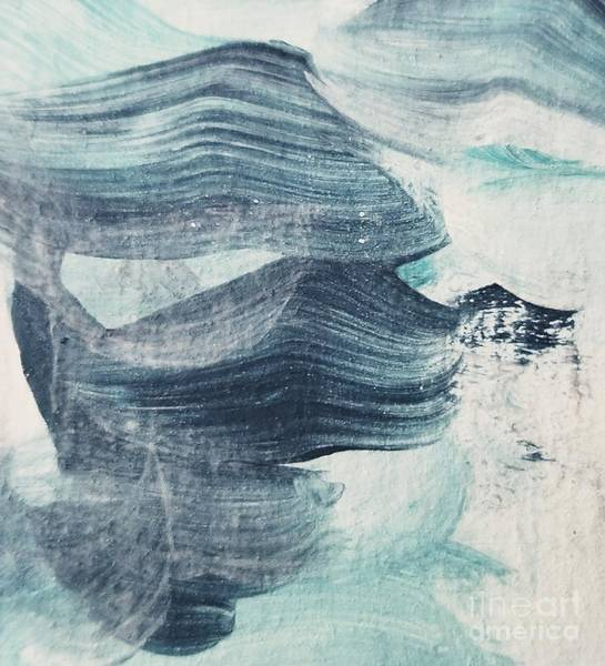 Painting - Blue #2 by Maria Langgle