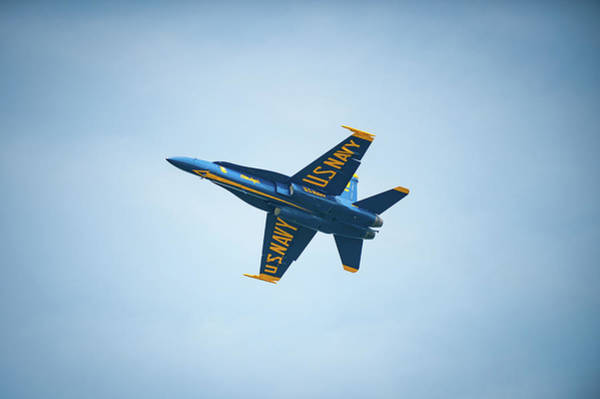 Photograph - Blue Angel On High by Mark Duehmig