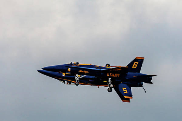 Photograph - Blue Angels 5 And 6 As One by Donna Corless