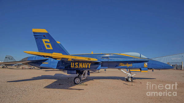 Wall Art - Photograph - Blue Angels 6 by Edward Fielding