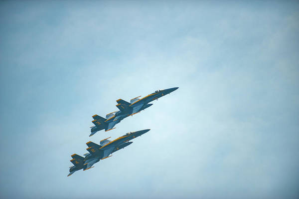 Photograph - Blue Angels Above Annapolis by Mark Duehmig