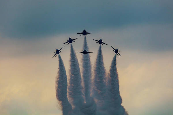 Photograph - Blue Angels Delta Burst by Donna Corless