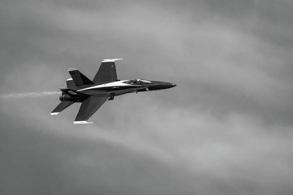 Photograph - Blue Angels Flyby #1 by Todd Henson