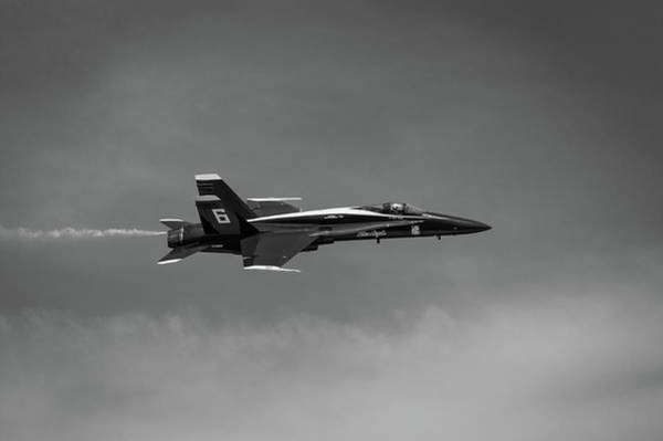 Photograph - Blue Angels Flyby #2 by Todd Henson