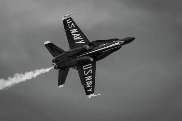 Photograph - Blue Angels Flyby #3 by Todd Henson