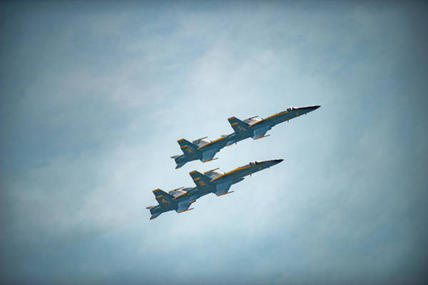 Photograph - Blue Angels by Mark Duehmig
