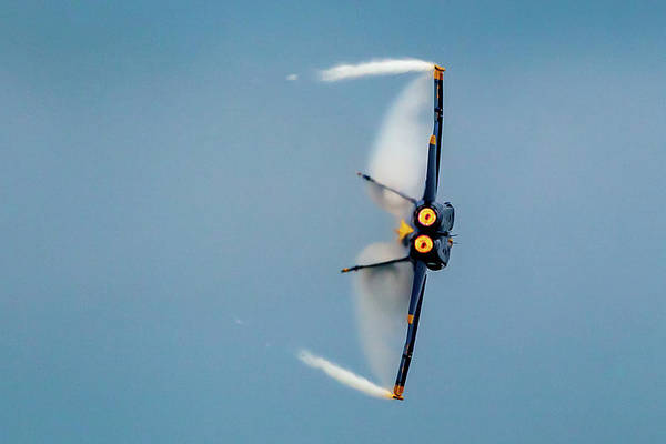 Photograph - Blue Angels Vapor by Donna Corless
