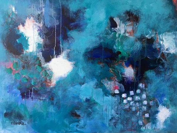 Painting - Blue Bayou by Laurie Maves ART