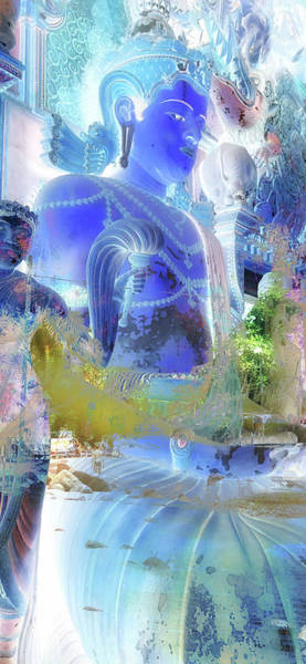 Wall Art - Photograph - Blue Buddha by Stacy Vosberg