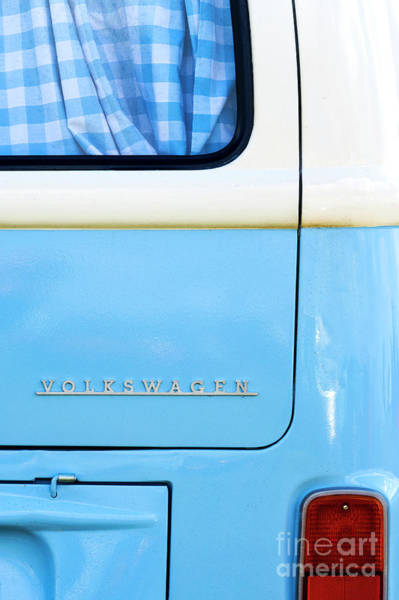 Wall Art - Photograph - Blue Camper by Tim Gainey
