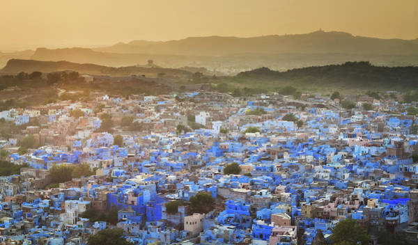 Residential Area Photograph - Blue City - Jodhpur by Cinoby