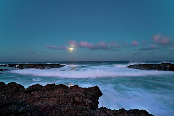 Photograph - Blue Cove by Sean Davey