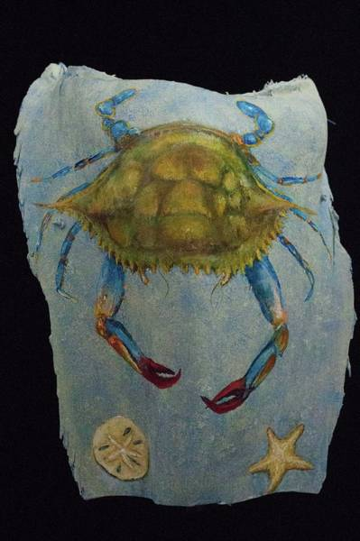 Painting - Blue Crab And Friends by Nancy Lauby