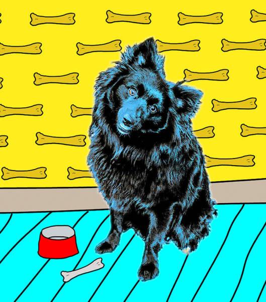 Photograph - Blue Dog by Lou Novick