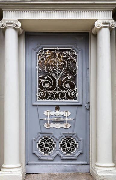 Photograph - Blue Door In Dublin by Georgia Fowler
