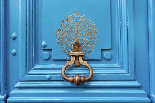 Wall Art - Photograph - Blue Door In Paris by Melanie Alexandra Price