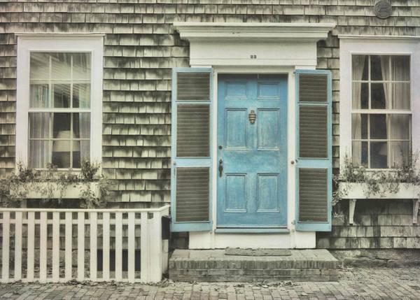 Photograph - Blue Door by JAMART Photography
