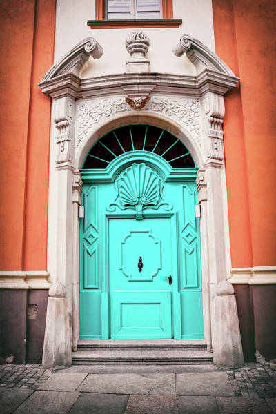 Wall Art - Photograph - Blue Door Wroclaw Poland  by Carol Japp
