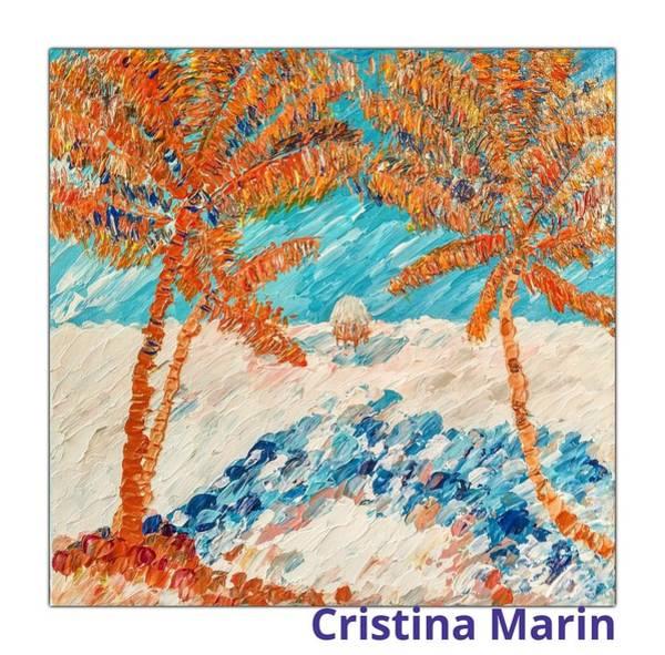 Wall Art - Painting - Blue Dream by Cristina Marin