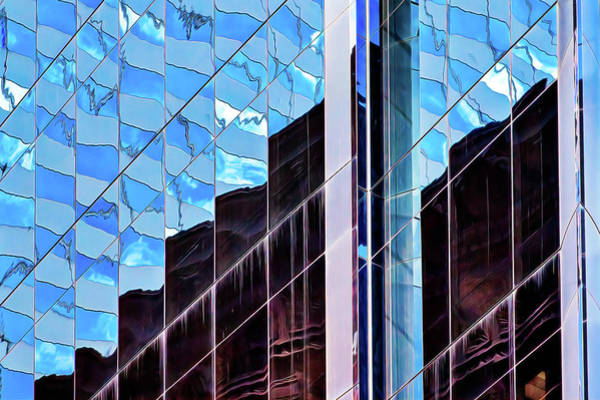 Photograph - Blue Flags And Monoliths by Robert FERD Frank
